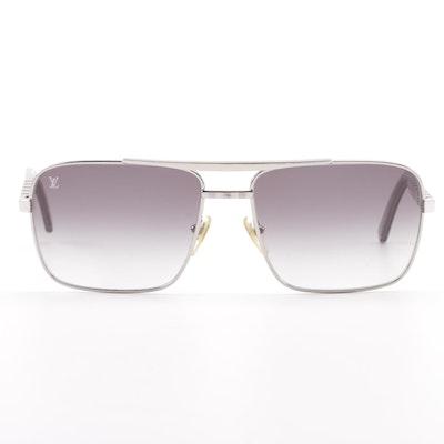 6daafe5449fb Louis Vuitton Z0260U Aviator Style Sunglasses