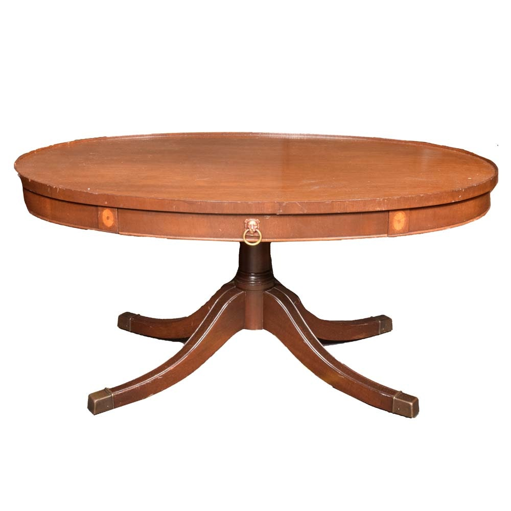 Vintage Duncan Phyfe Cherry Coffee Table