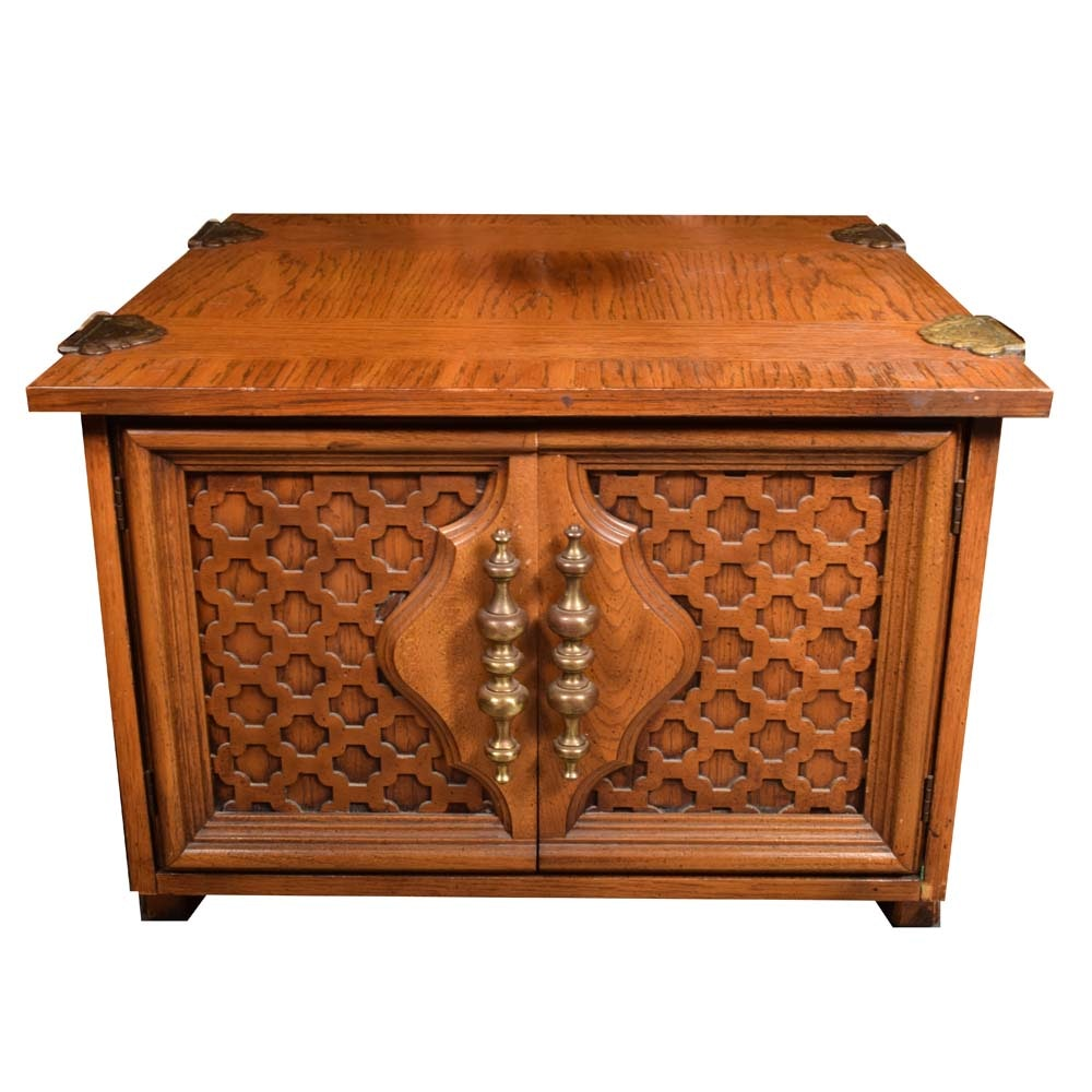 Vintage Spanish Revival Accent Table