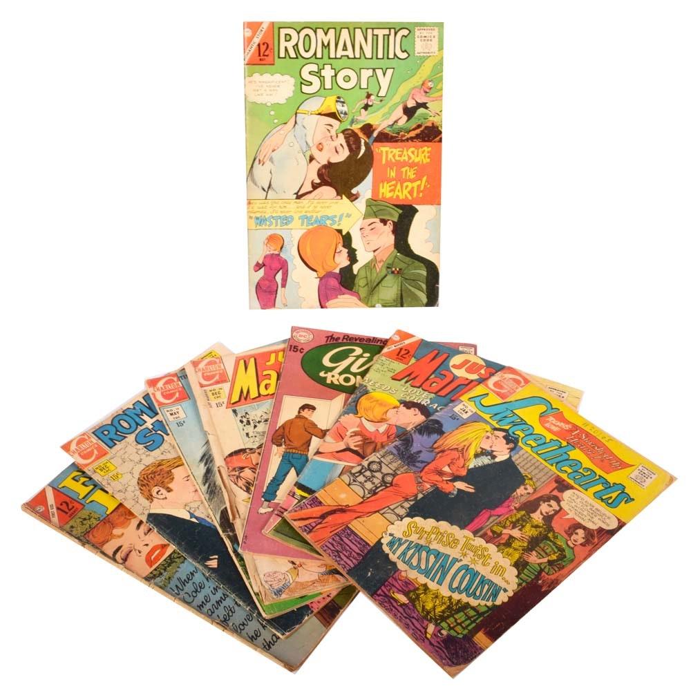 Vintage Romance Comic Books