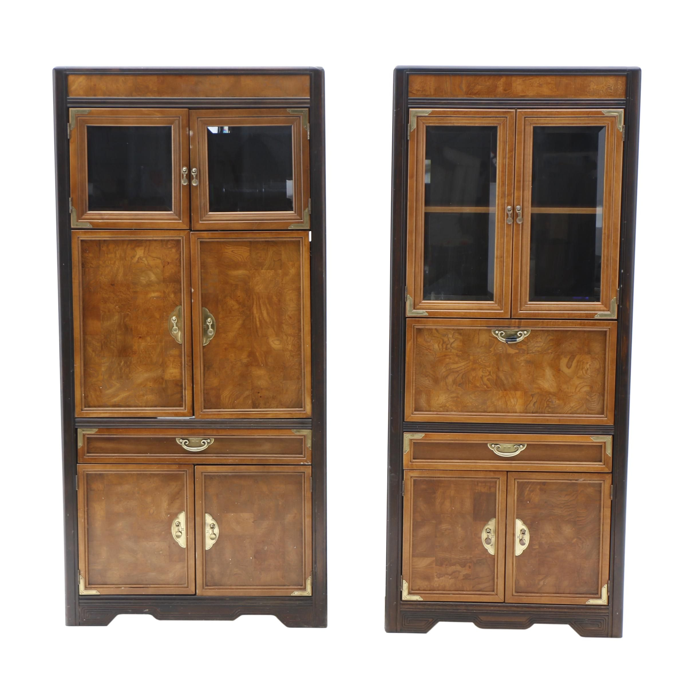 Asian Themed Cabinets from the Broyhill _Premier_ Line