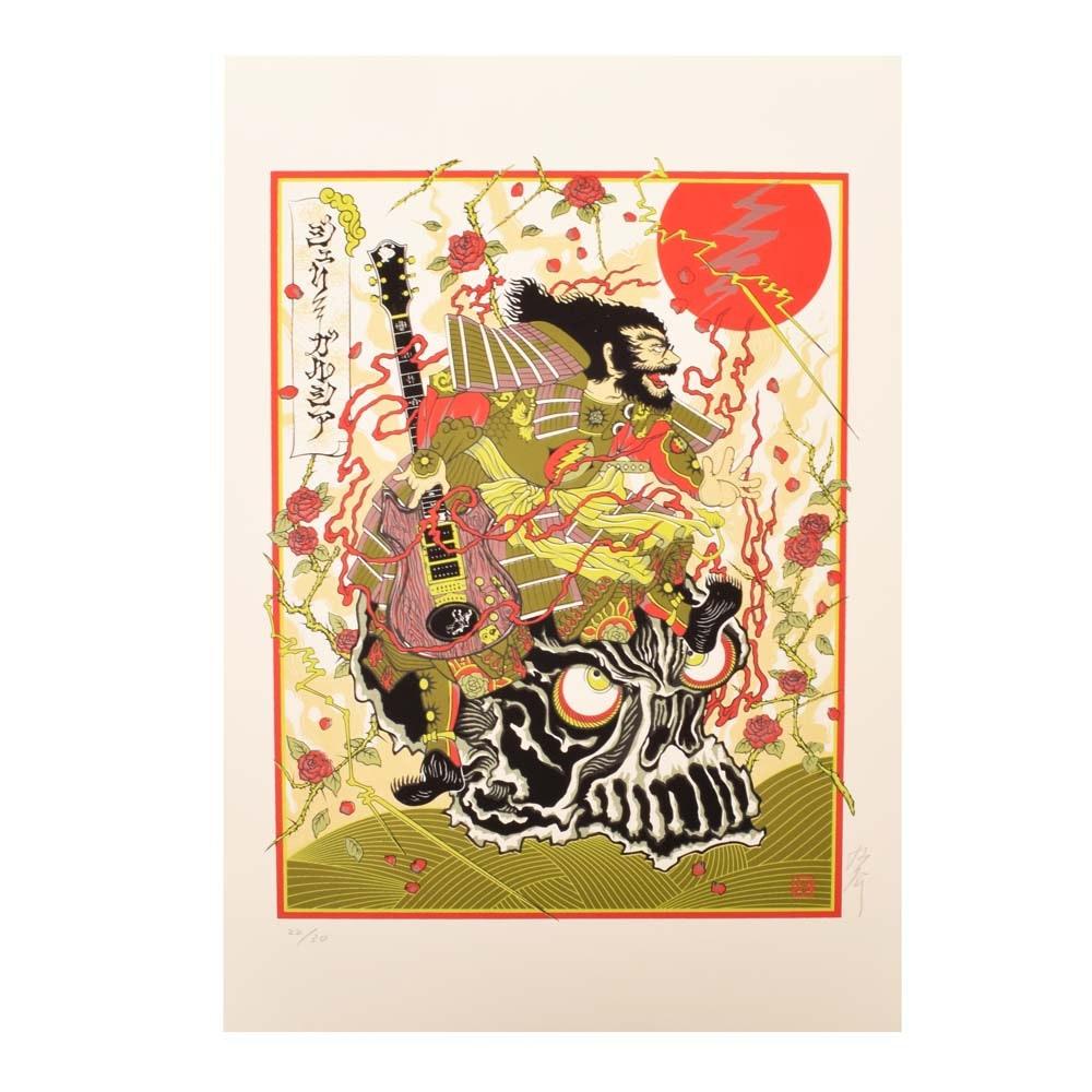 "Daisuke Kimura Serigraph ""Samurai Jerry"" (Garcia)"