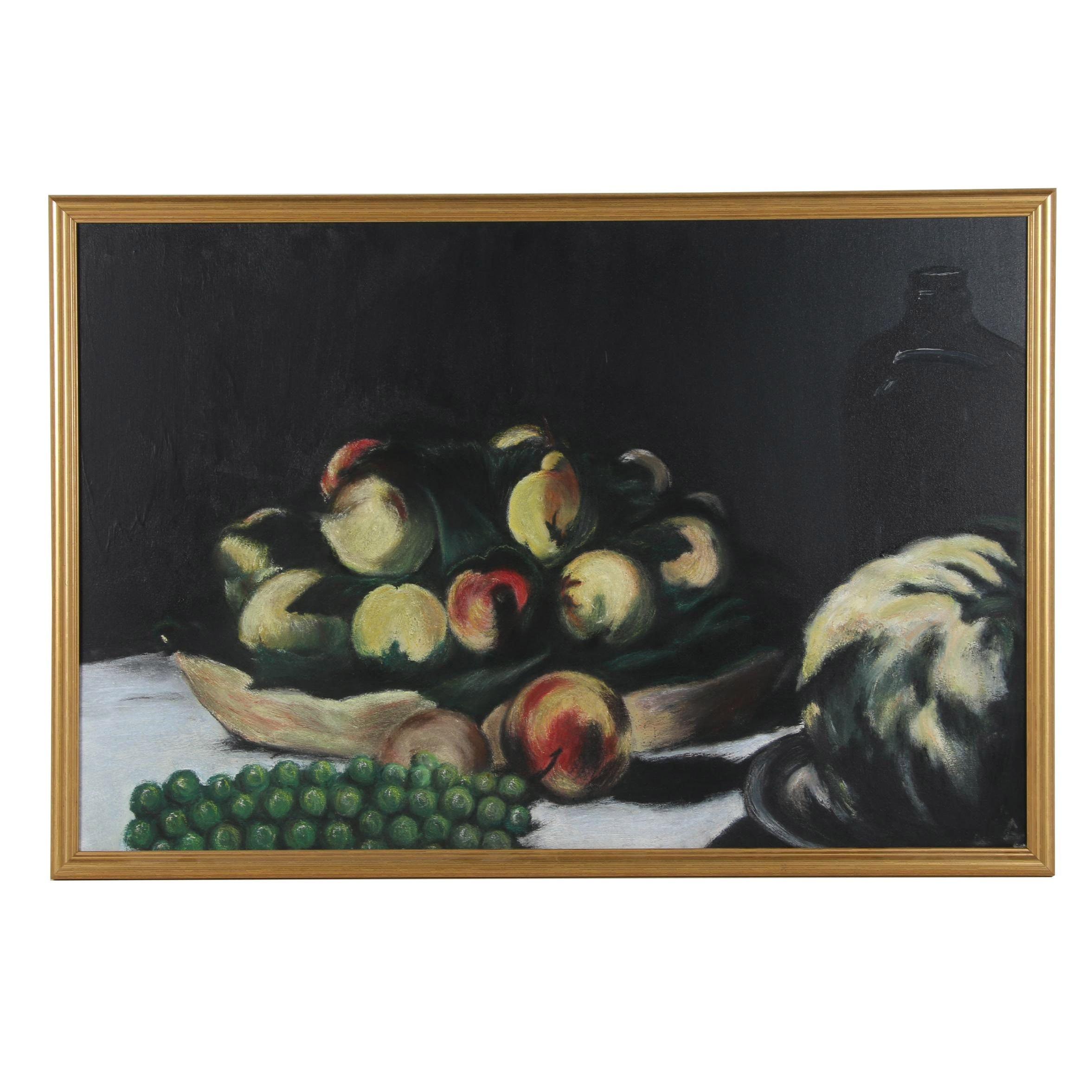 20th Century Still life Oil Painting