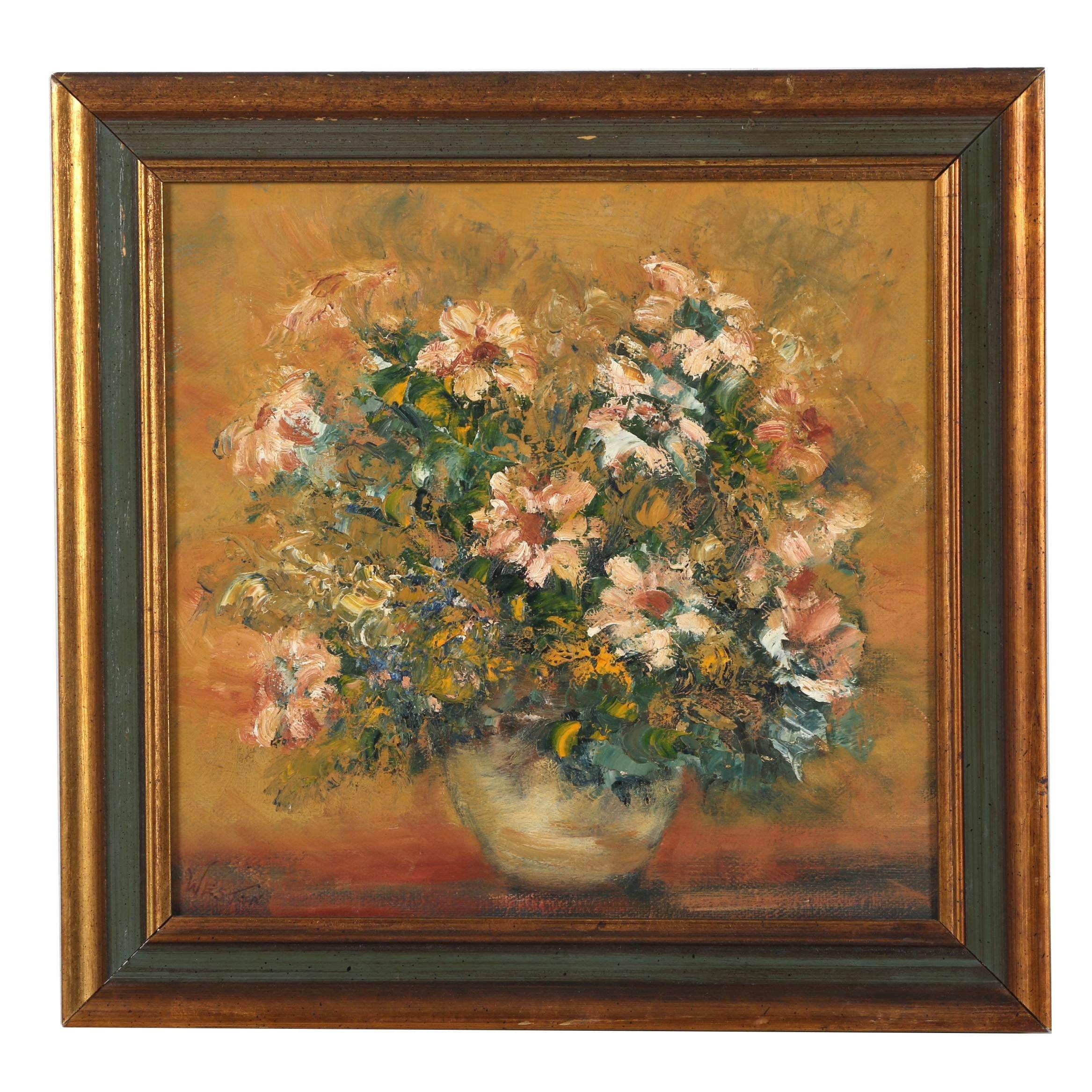 Weston Still Life Oil Painting