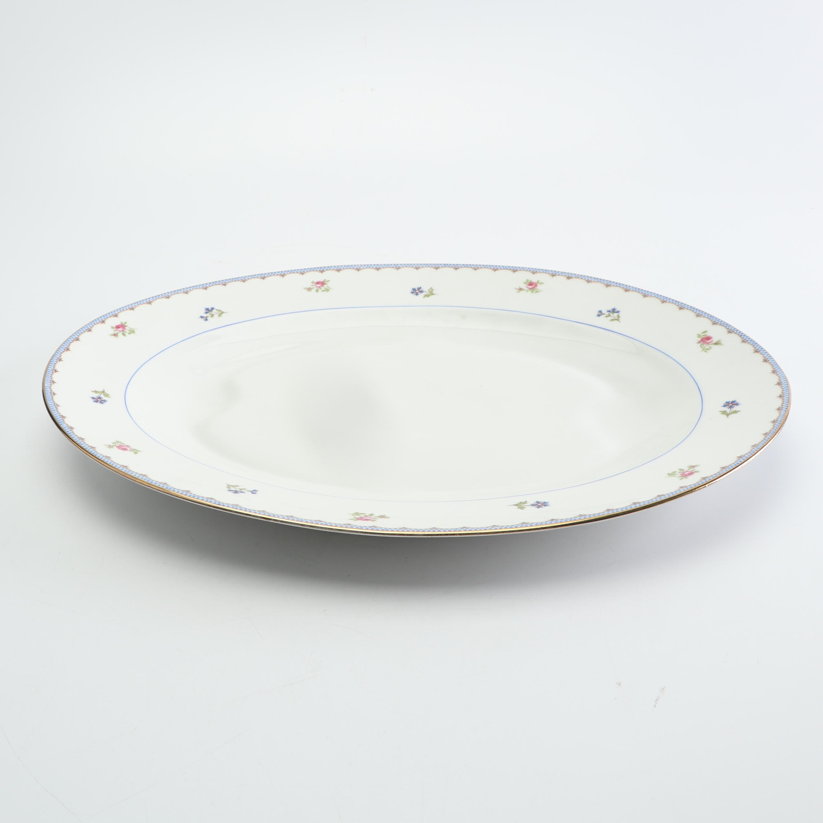 Early 20th Century Ahrenfeldt Limoges Porcelain Platter