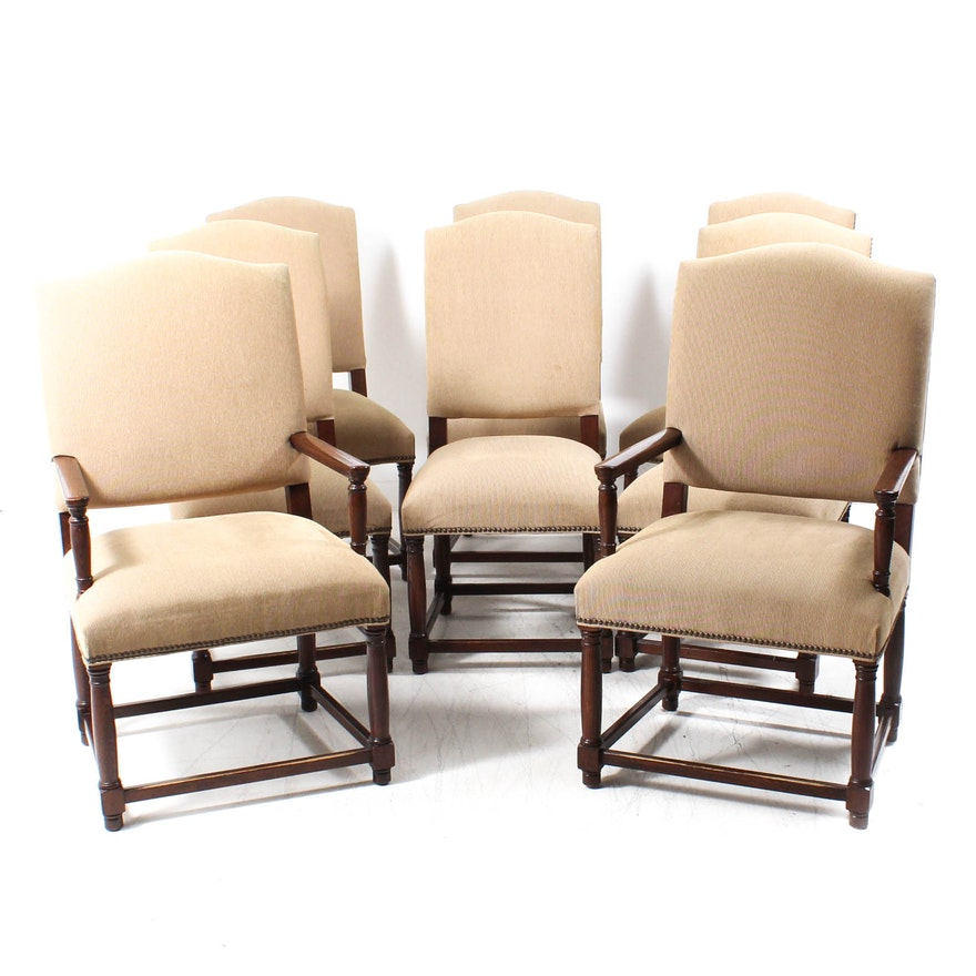 restoration hardware camelback dining chairs ebth. Black Bedroom Furniture Sets. Home Design Ideas
