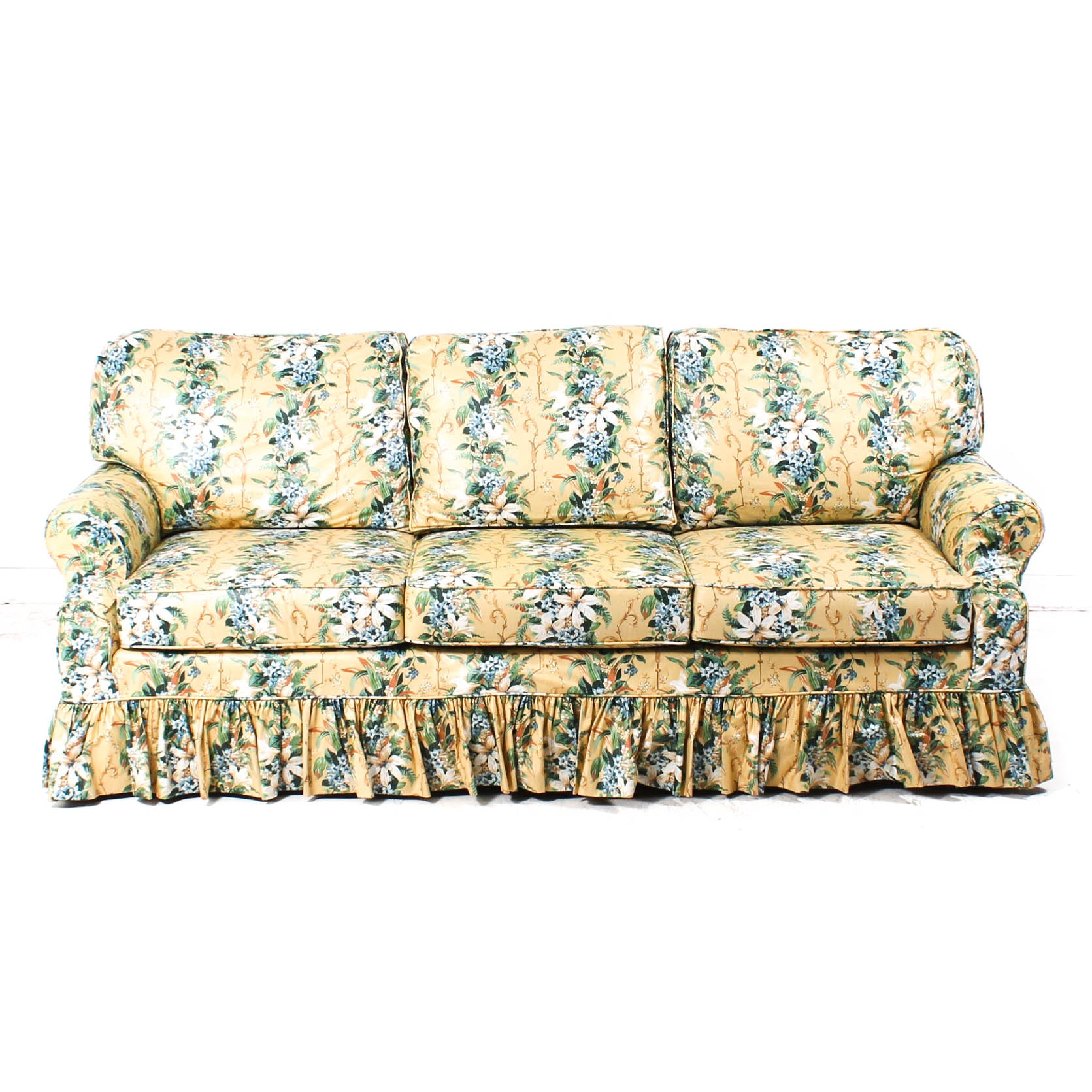 Berne Sofa with Floral Cover