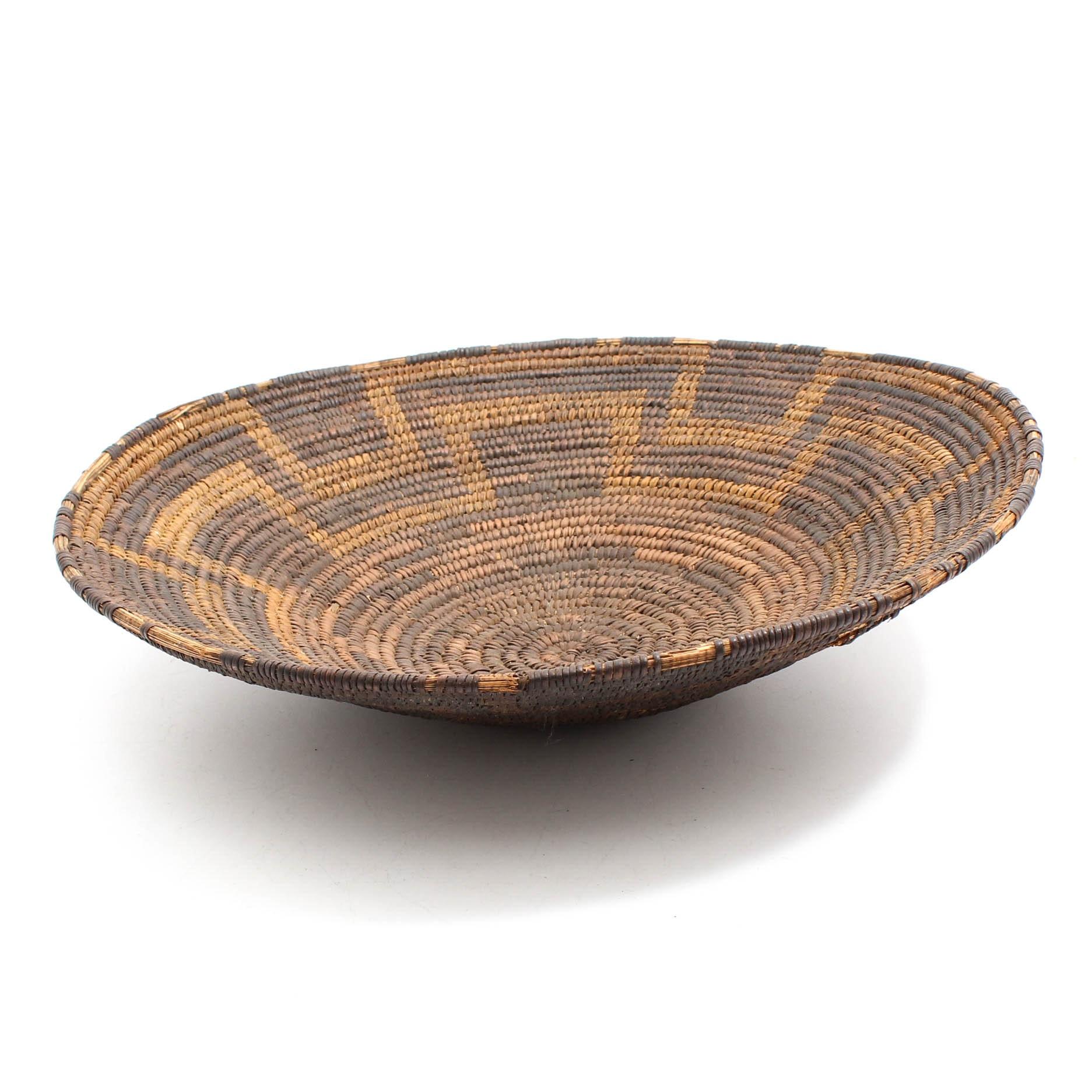 Antique Pima Woven Basket