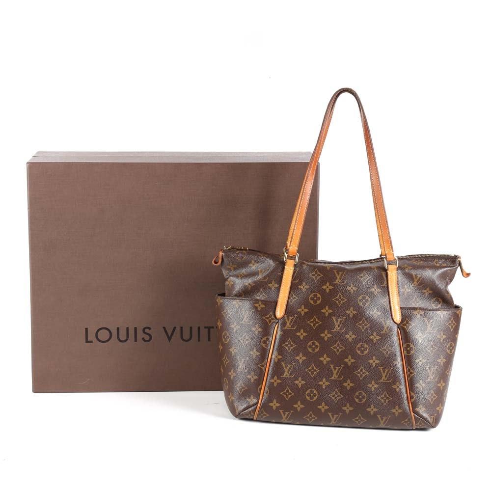 2015 Louis Vuitton of Paris Monogram Totally MM Tote Bag