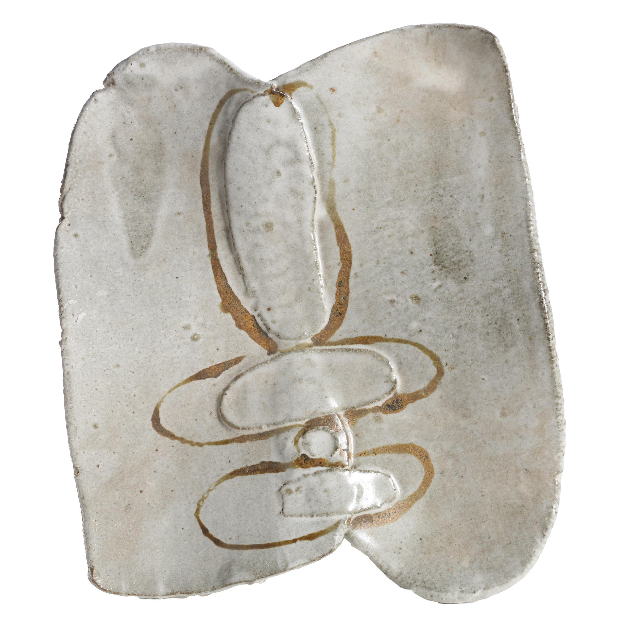 John Tuska Decorative Stoneware Plate