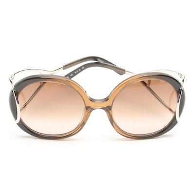 bcd42c7840b7 1980s Vintage Cazal Black Sunglasses