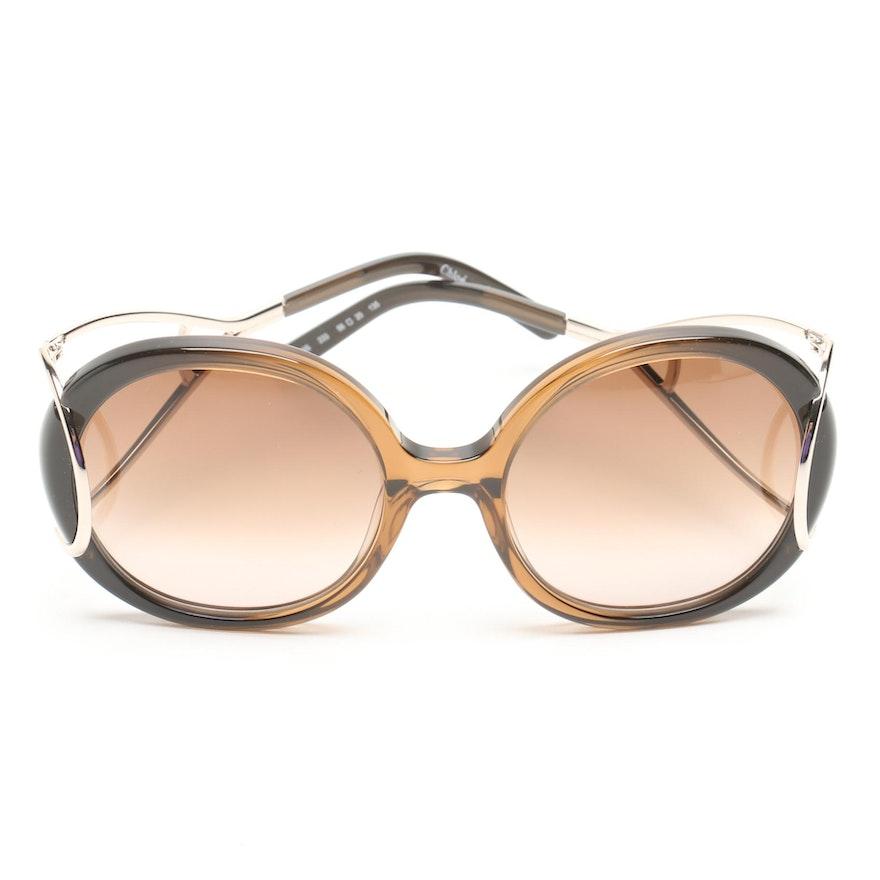 8cbd65c313 Chloé Jackson Round Sunglasses   EBTH
