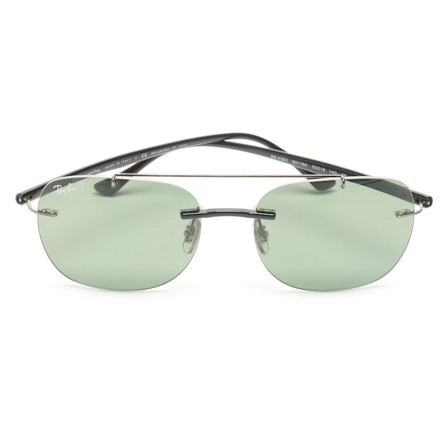 1de8026120 Ray-Ban LightRay Polarized Sunglasses   EBTH