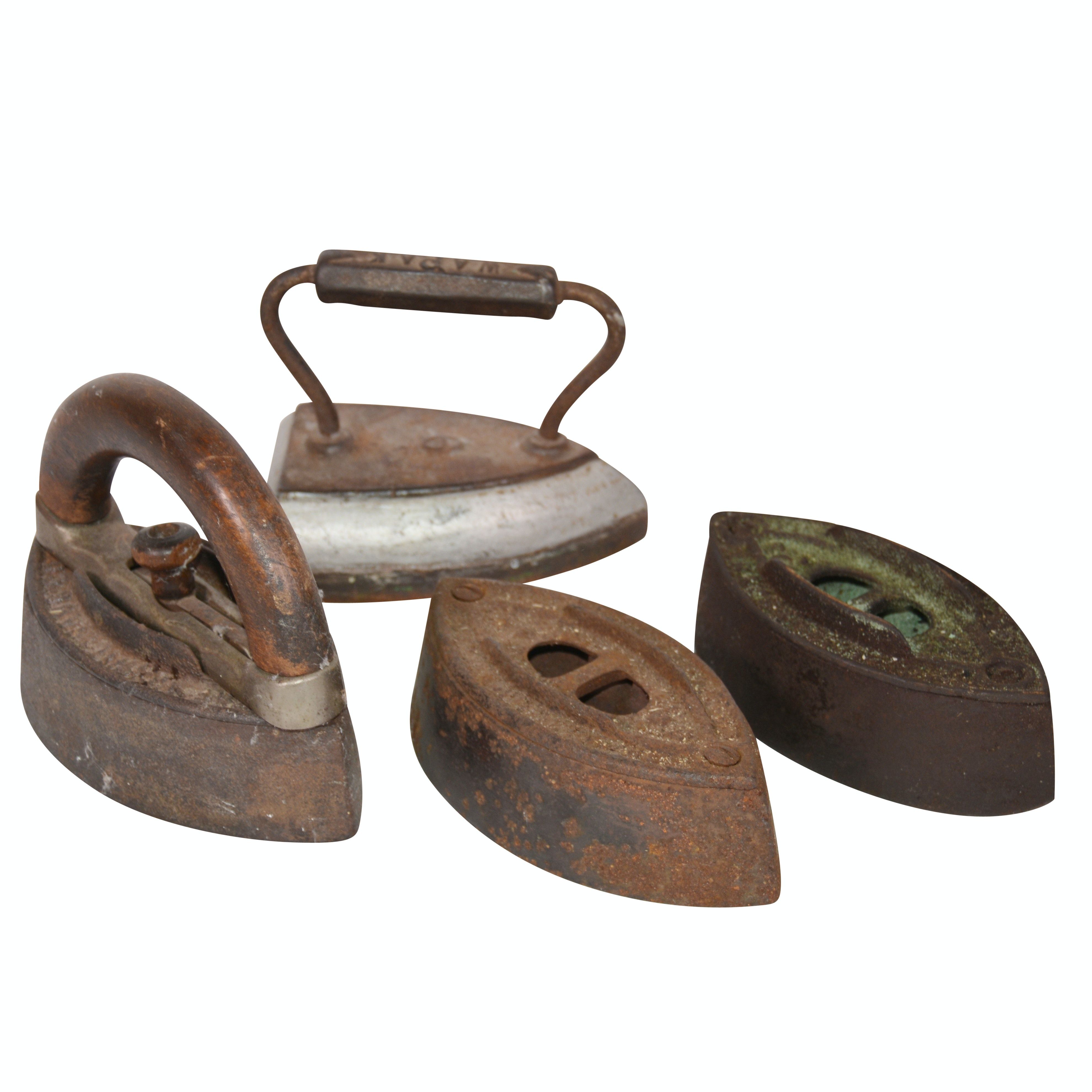 Antique SAD Cast Irons