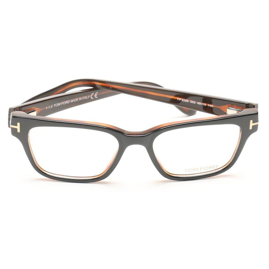 43d33b6829a Tom Ford Horn-Rimmed Eyeglasses   EBTH