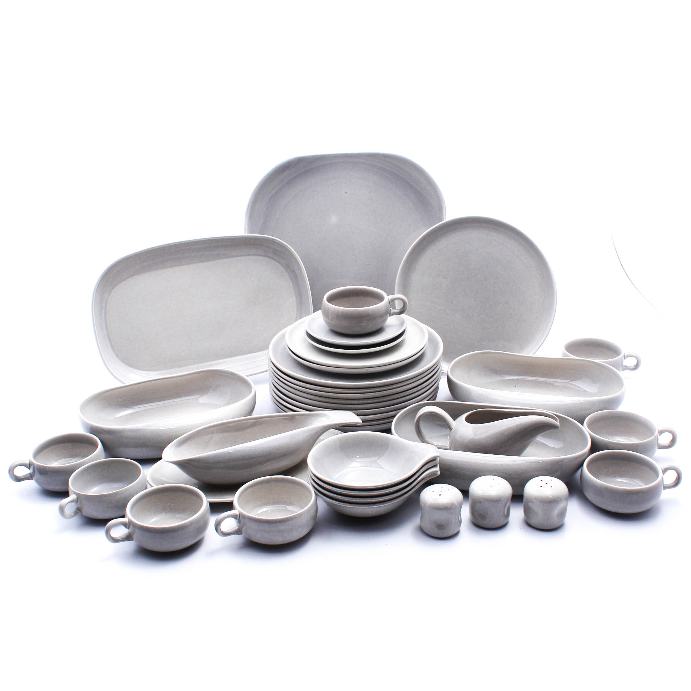 Russel Wright Mid Century Modern Ceramic Tableware