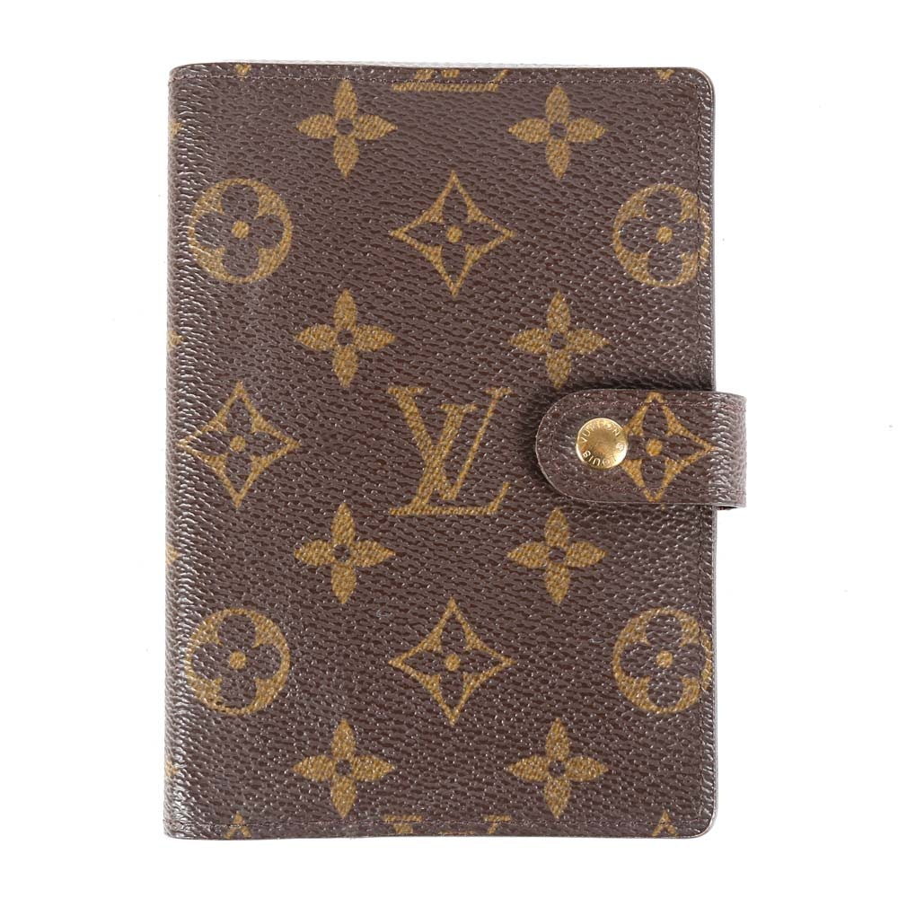 2002 Louis Vuitton of Paris Monogram Canvas Agenda Cover