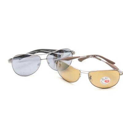 d18cb990cfa Tumi Minami Brown Tortoise Polarized Sunglasses   EBTH
