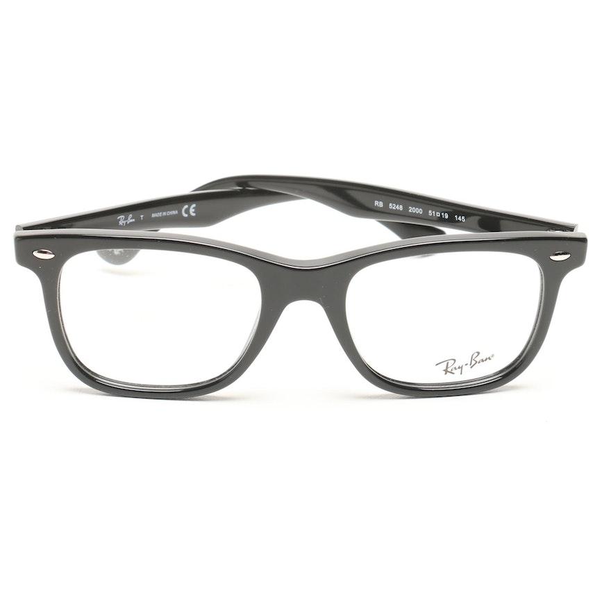 cf49d0181cbea Ray-Ban Horn-Rimmed Eyeglasses   EBTH