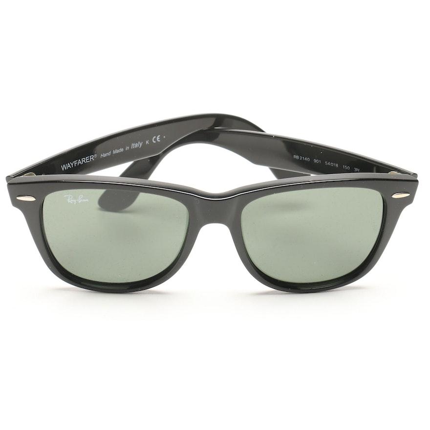 9f177e807c Ray-Ban Black Wayfarer Sunglasses   EBTH