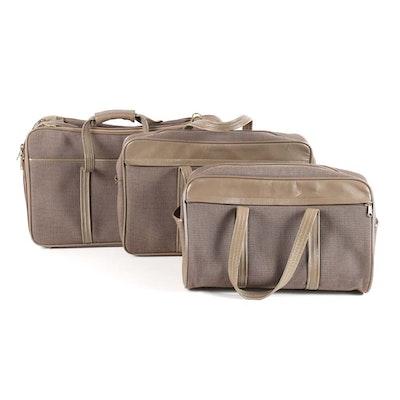 3061b6f988cb Vintage Three-Piece Hartmann Luggage Set