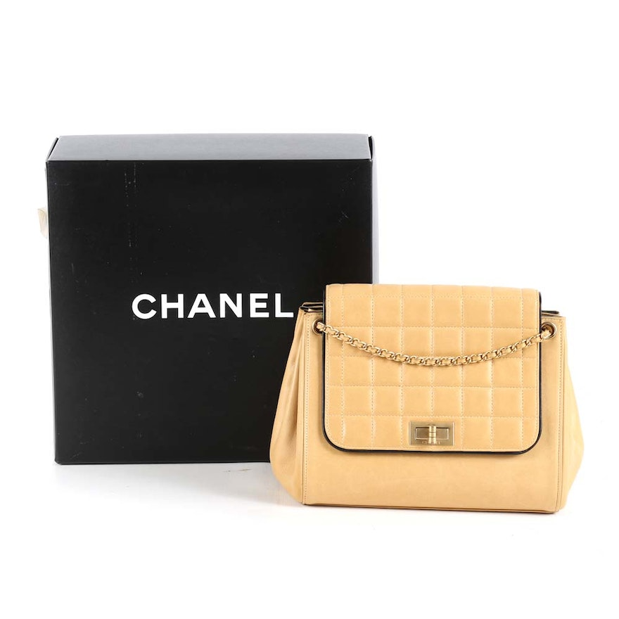 1af719a5bf5c Chanel Mademoiselle Accordion Flap Bag : EBTH