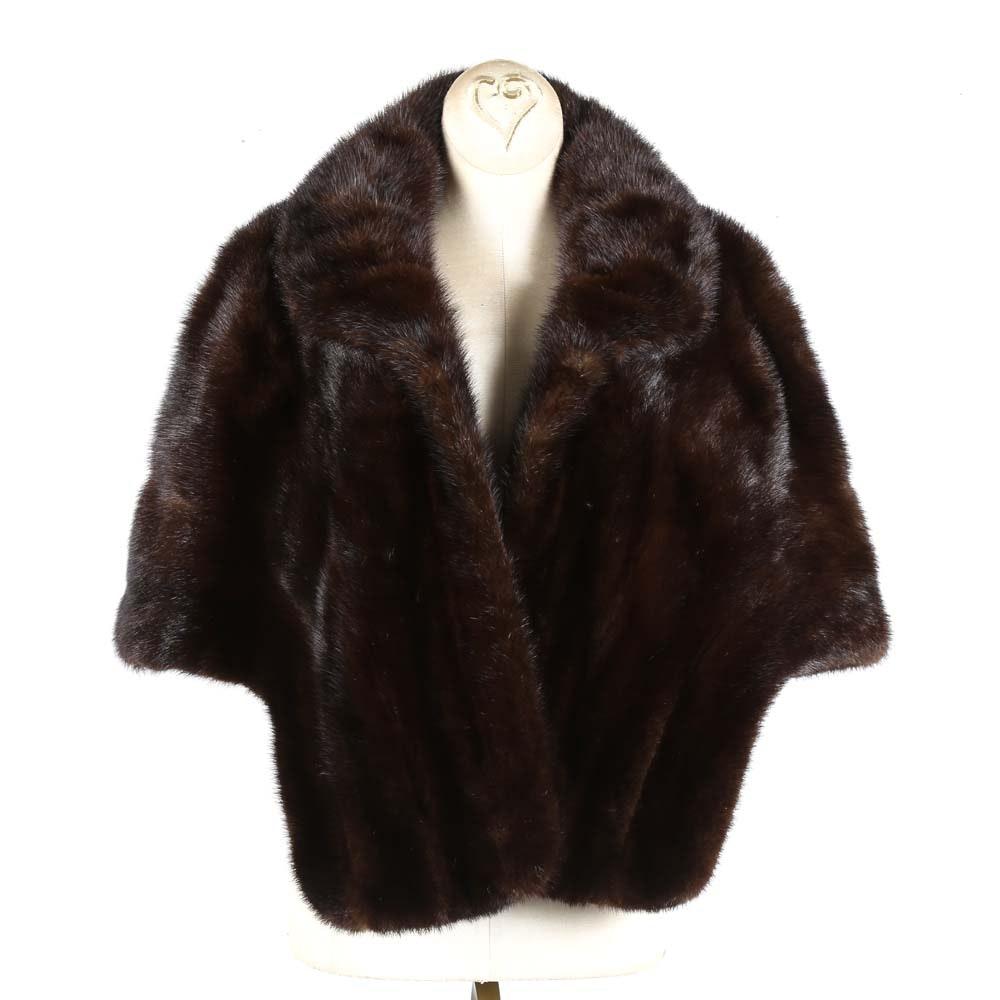 Vintage Evans Mink Fur Stole