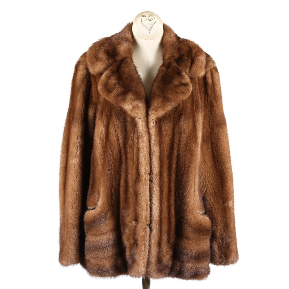 Vintage Douglas Furs Mink Fur Coat