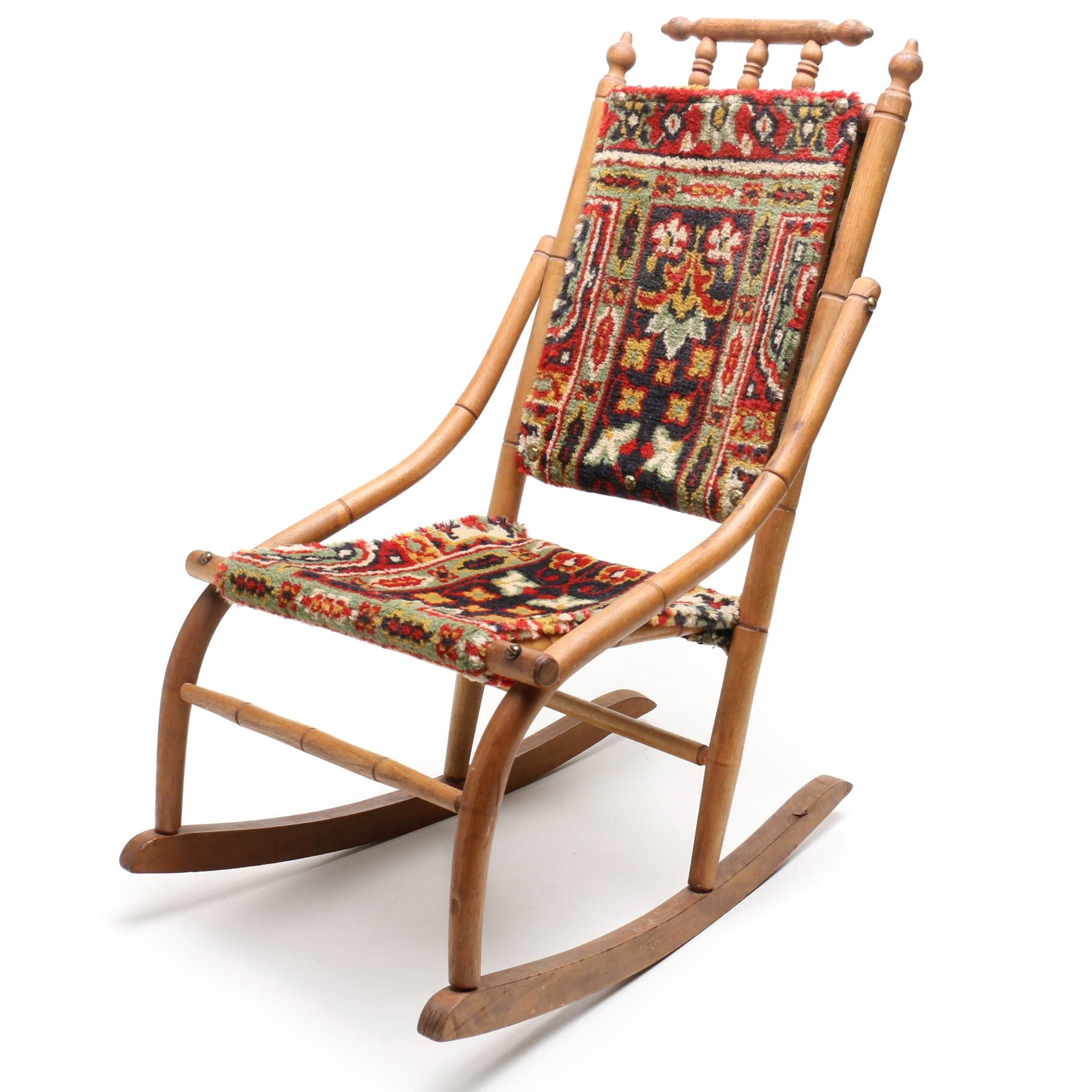 Ca. 1880s Child's Rocking Chair