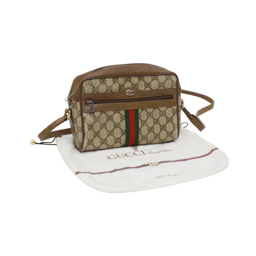 9302e6908b4 Vintage Gucci Accessory Collection Crossbody Handbag   EBTH
