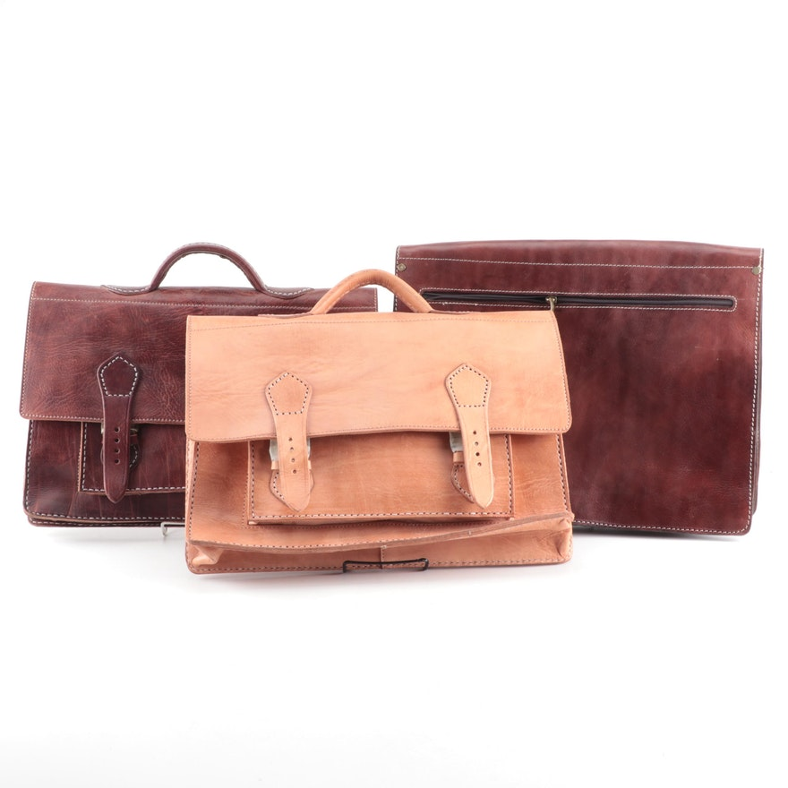 a8eab4fdf28 Vintage Inspired Leather Briefcases and Attaché Case   EBTH