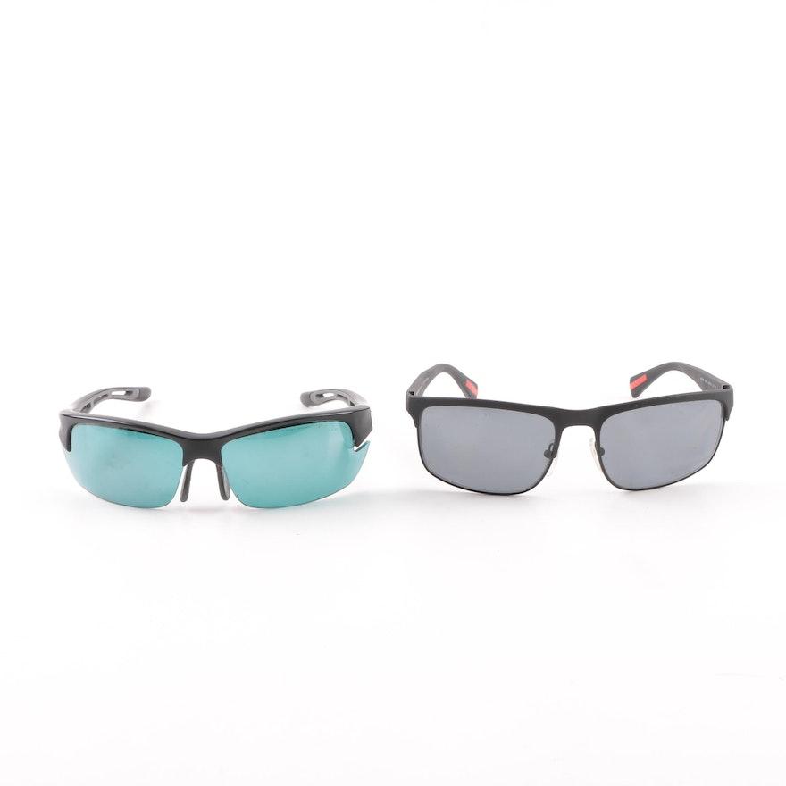 0c52c19725 Prada SPS 56P and Bollé Bolt Sport Style Sunglasses   EBTH