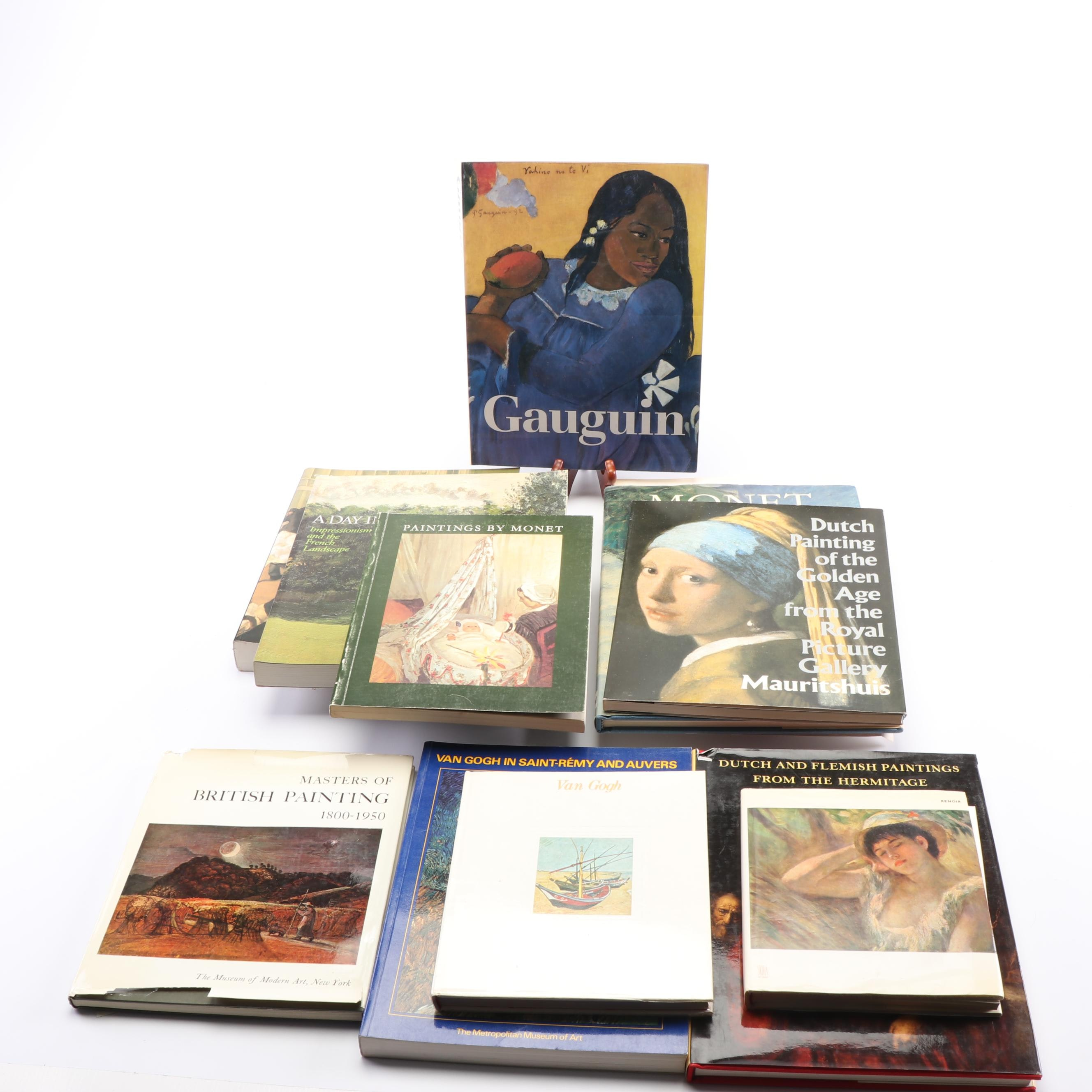 "Art Books including ""The Art of Paul Gauguin"""