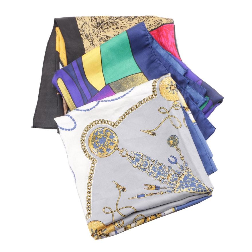 5202bec5e7fb Rolex Genève and Picasso Print Silk Fashion Scarves   EBTH