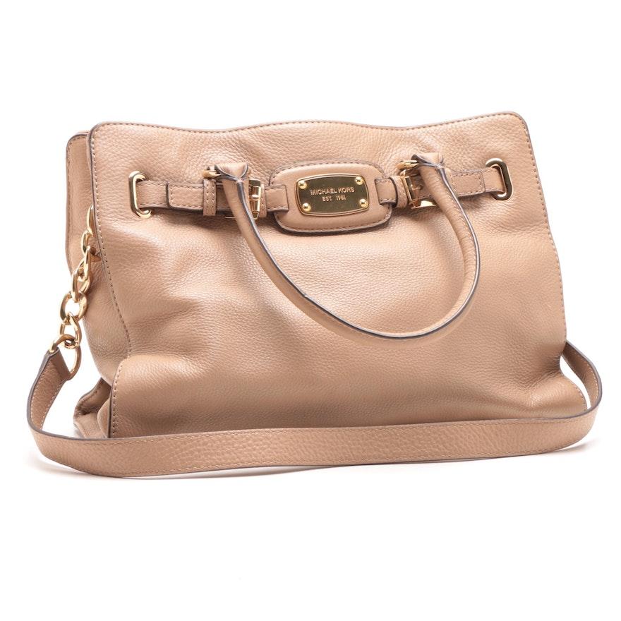 a53a0846369f MICHAEL Michael Kors Blush Leather Tote Bag   EBTH