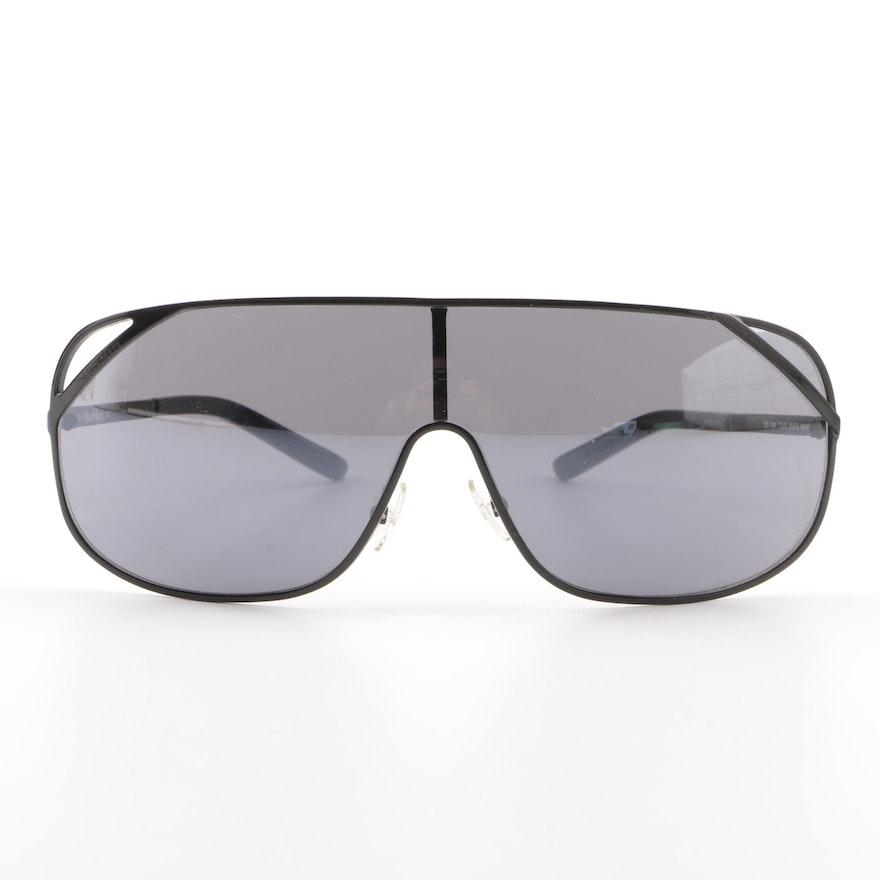346981c3e53 Max Mara MM 772 S Black Shield Sunglasses   EBTH