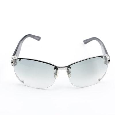 9de29acf7b32 Gucci GG2820 F S Rhinestone Encrusted Rimless Sunglasses