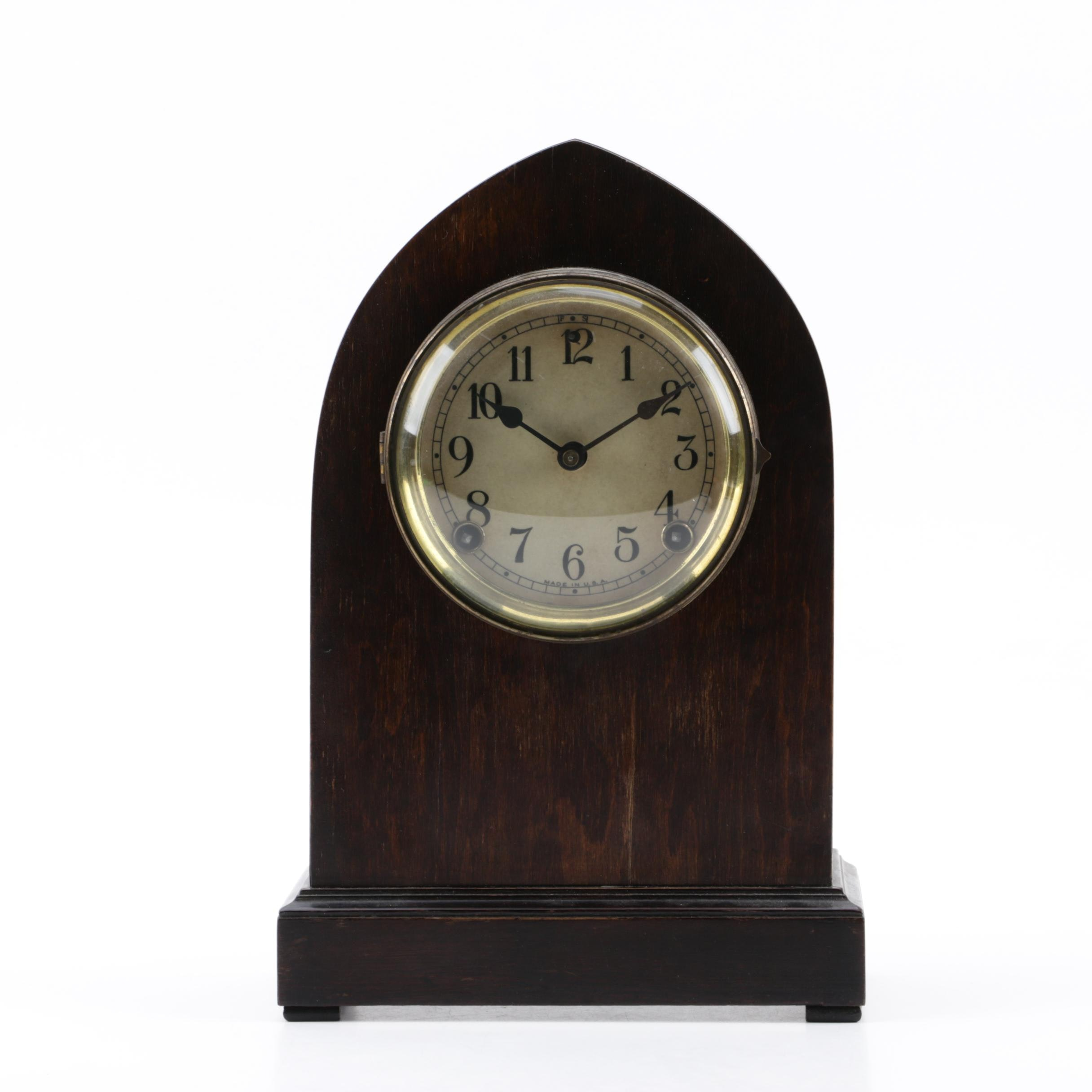 Sessions Clock Company Antique Beehive Mantel Clock