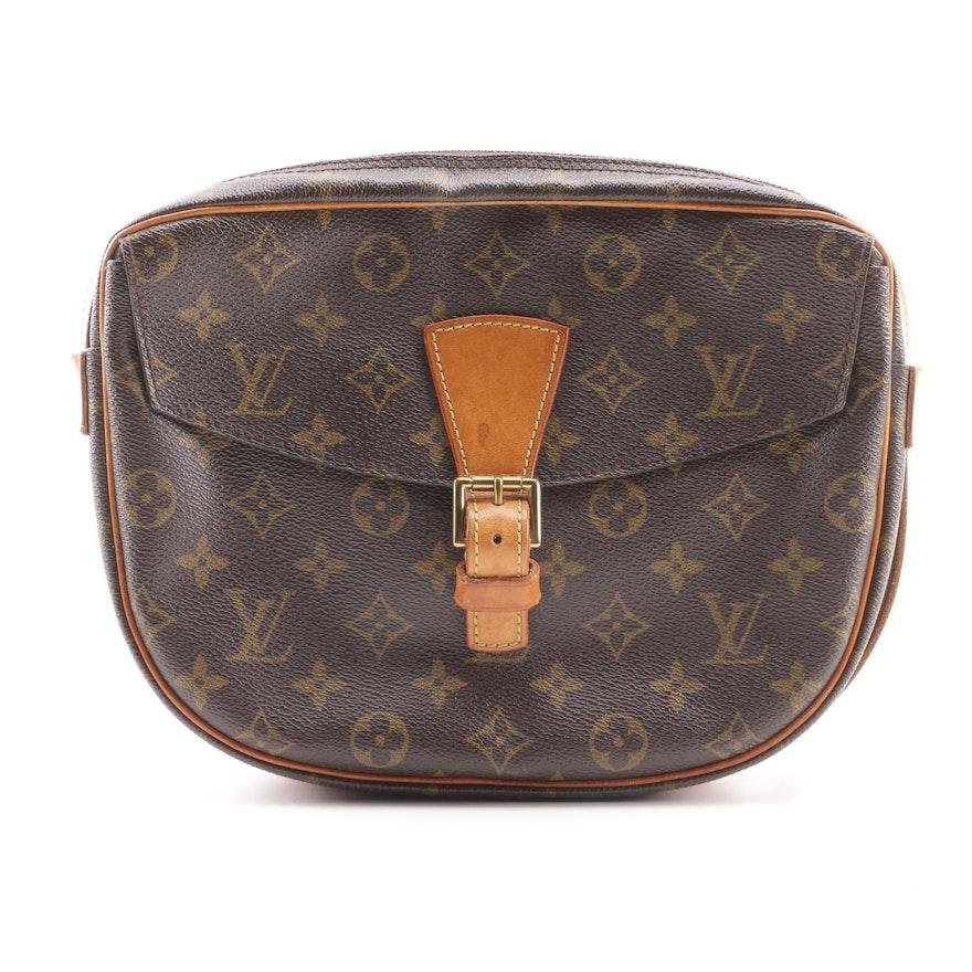 e52e4c9ae9f 1987 Vintage Louis Vuitton Jeune Fille Monogram Canvas Crossbody Bag ...