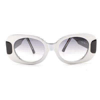 f3e2f9b00452 Francis Klein KYO 912 Black and White Sunglasses