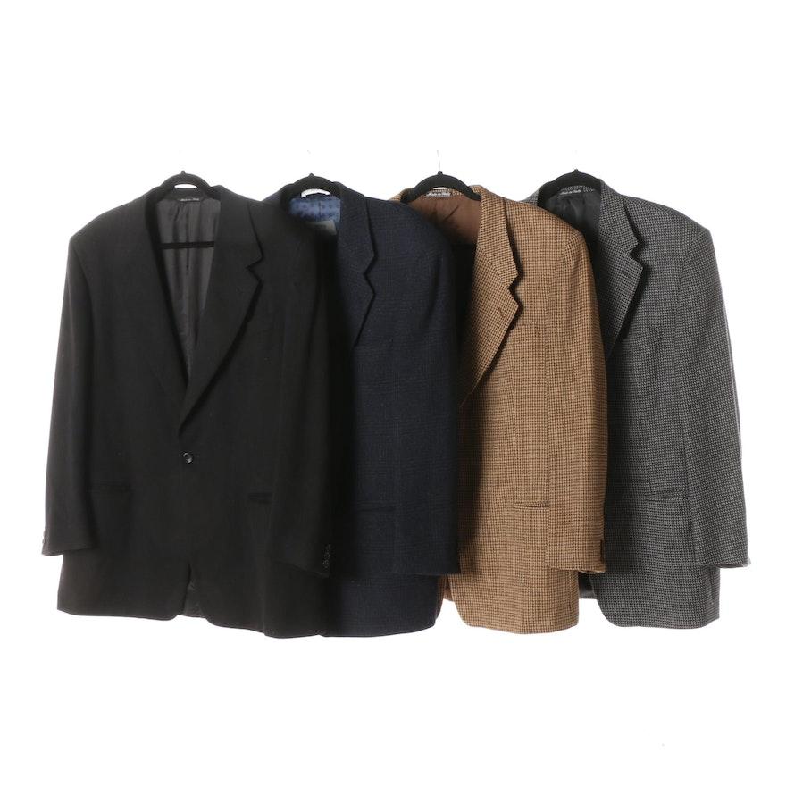 new style 3bc45 b2508 Men's Suit Jackets Including Giorgio Armani Collezioni and Canali