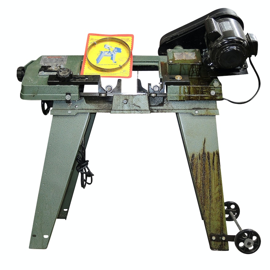 Metal Cutting Band Saw by Central Machinery