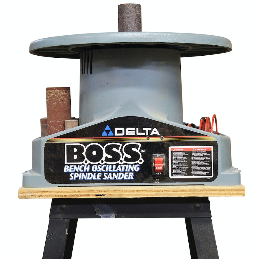 Delta Bench Oscillating Spindle Sander with Stand