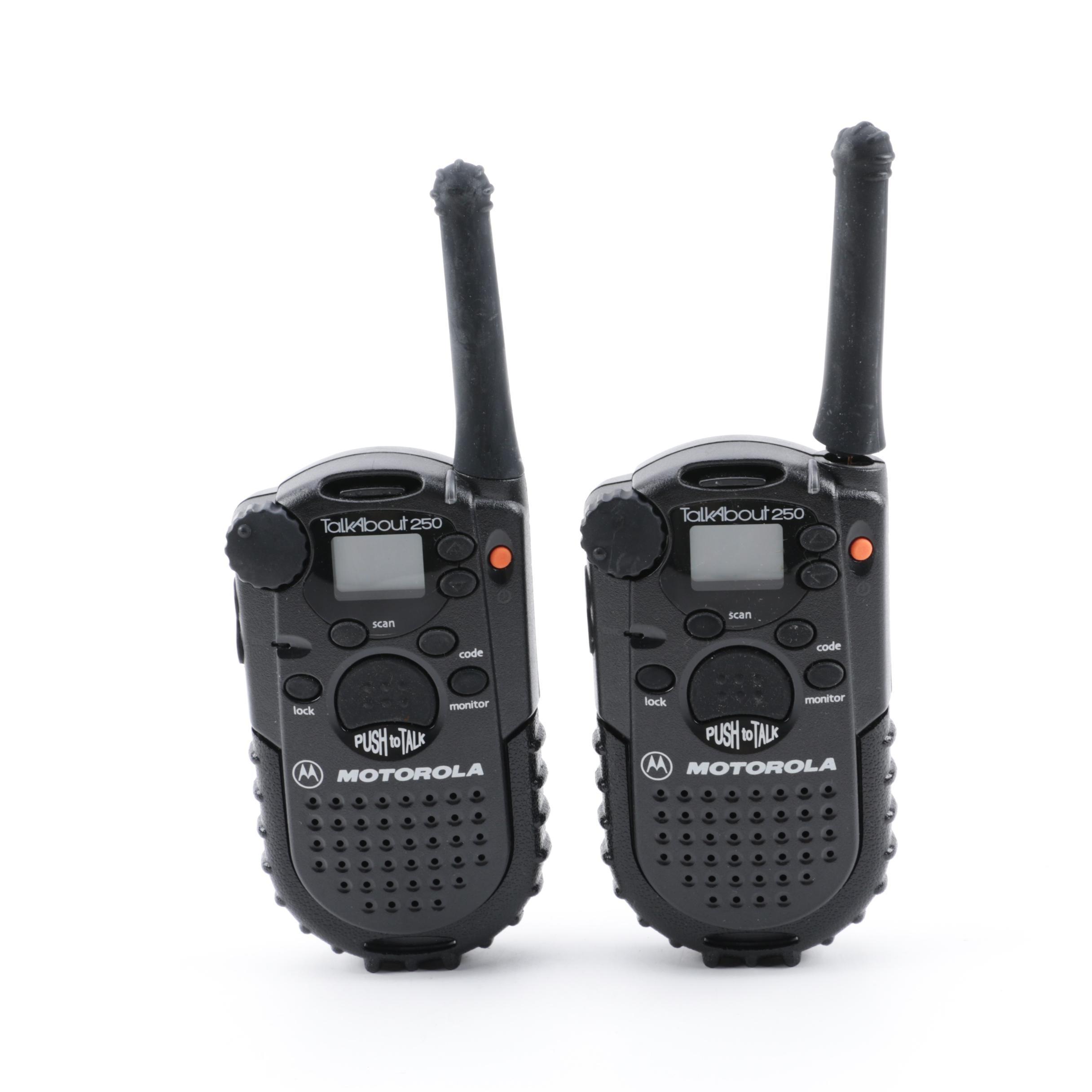 Motorola TalkAbout 250 Two-Way Radio Set