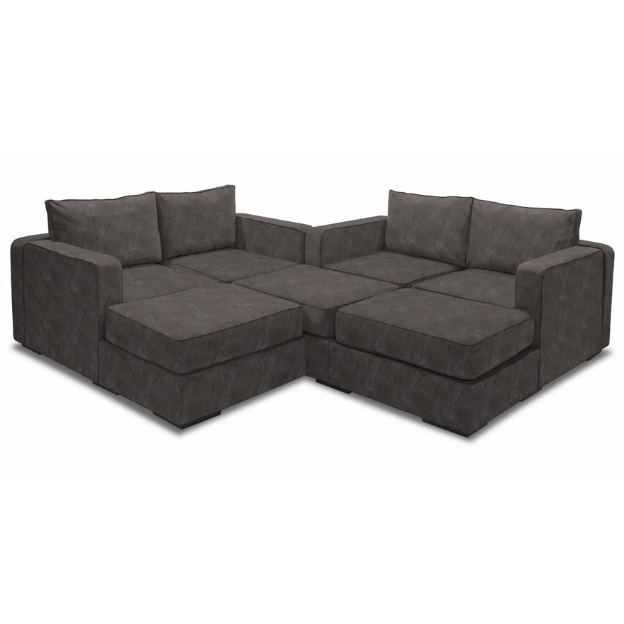 Contemporary Modular Sofa By Lovesac