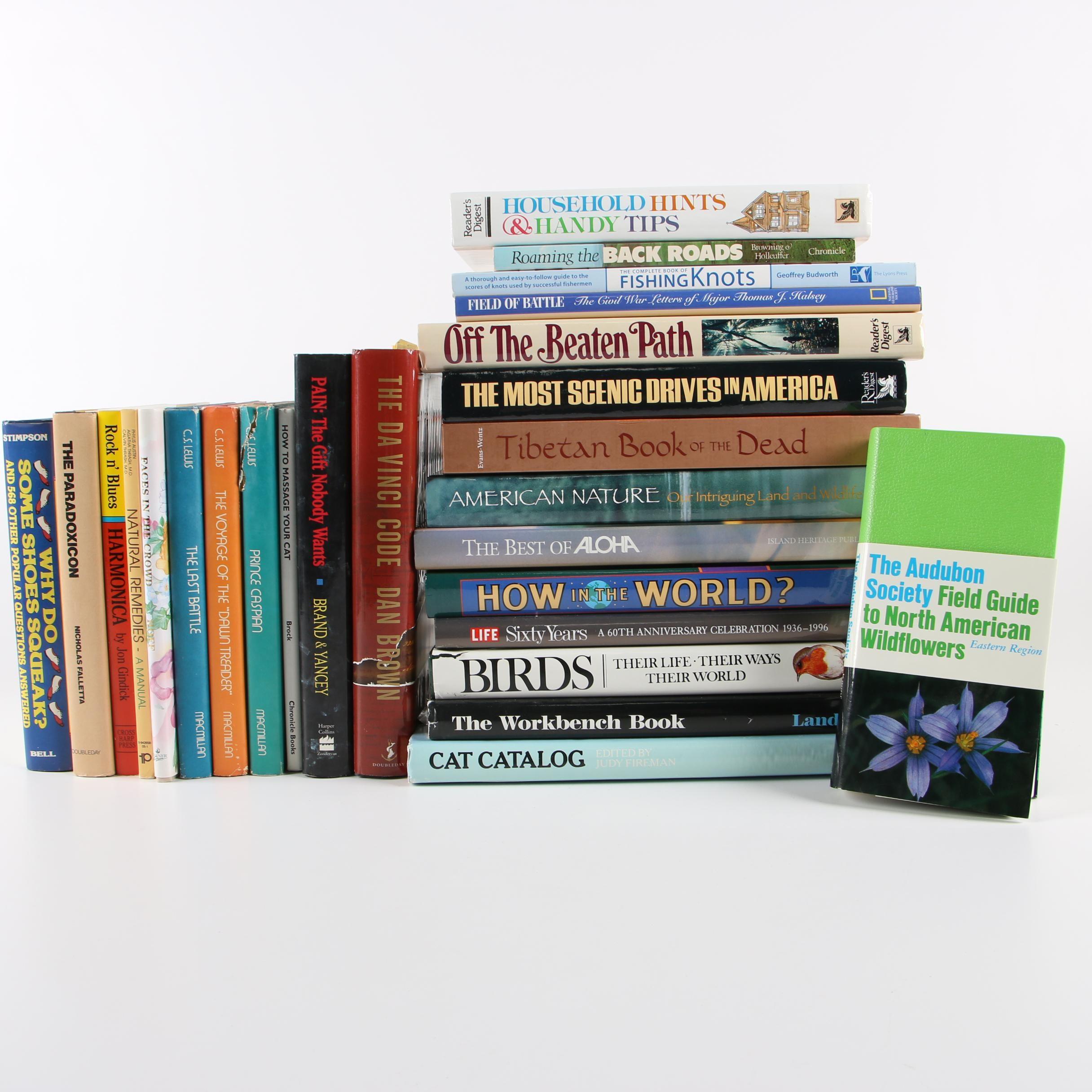 Nonfiction and Fiction including C. S. Lewis