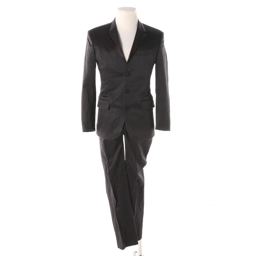 1d4027b1 Men's EFOR Black Two-Piece Suit : EBTH