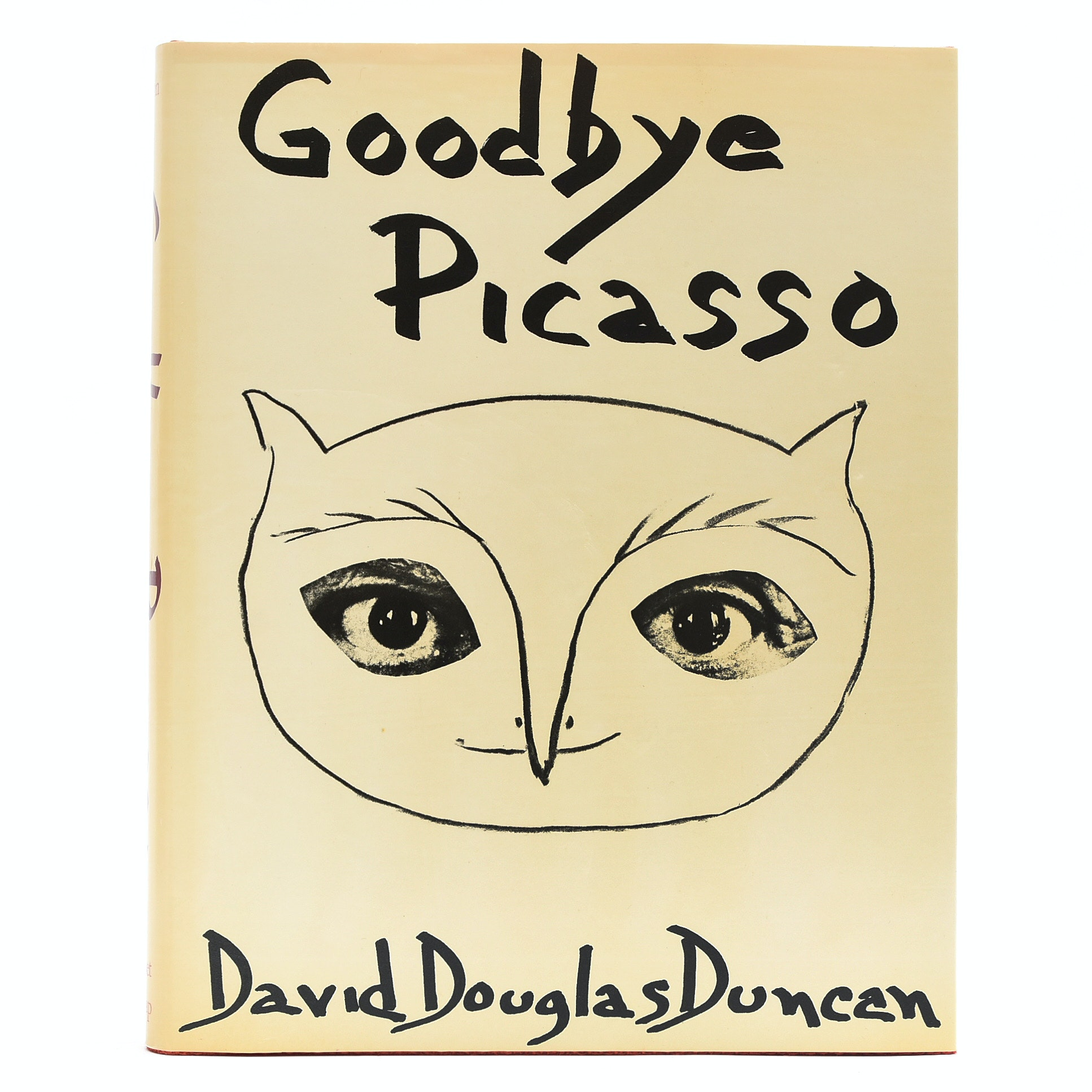 "1974 First Edition ""Goodbye Picasso"" by David Douglas Duncan"