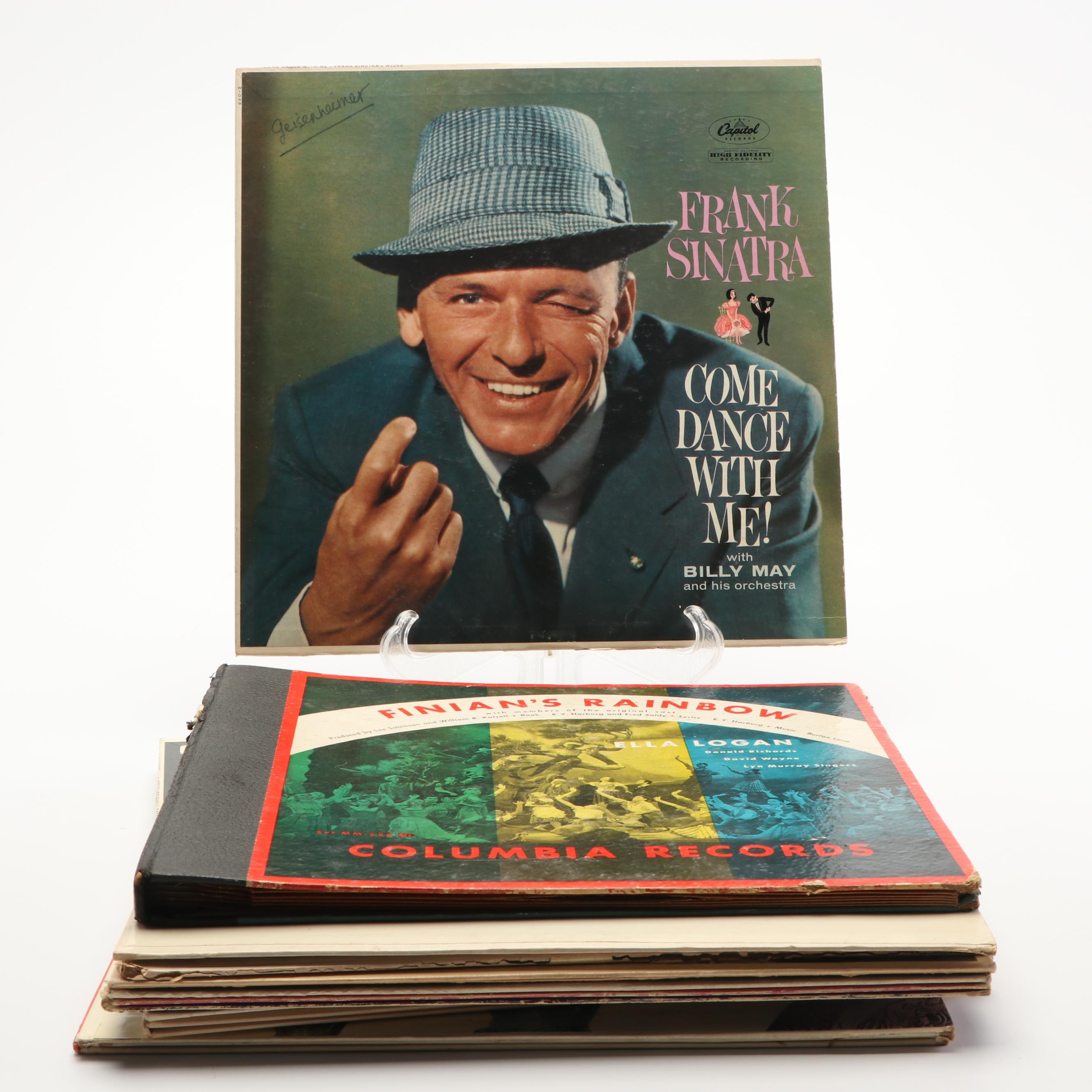 Soundtracks and Musicals with Frank Sinatra and Other Records