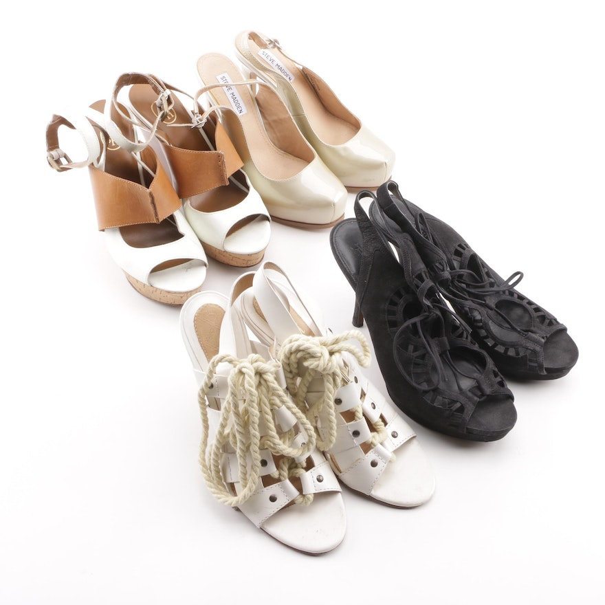804784ce0 Women s Heels and Sandals Including Vera Wang and L.A.M.B.   EBTH